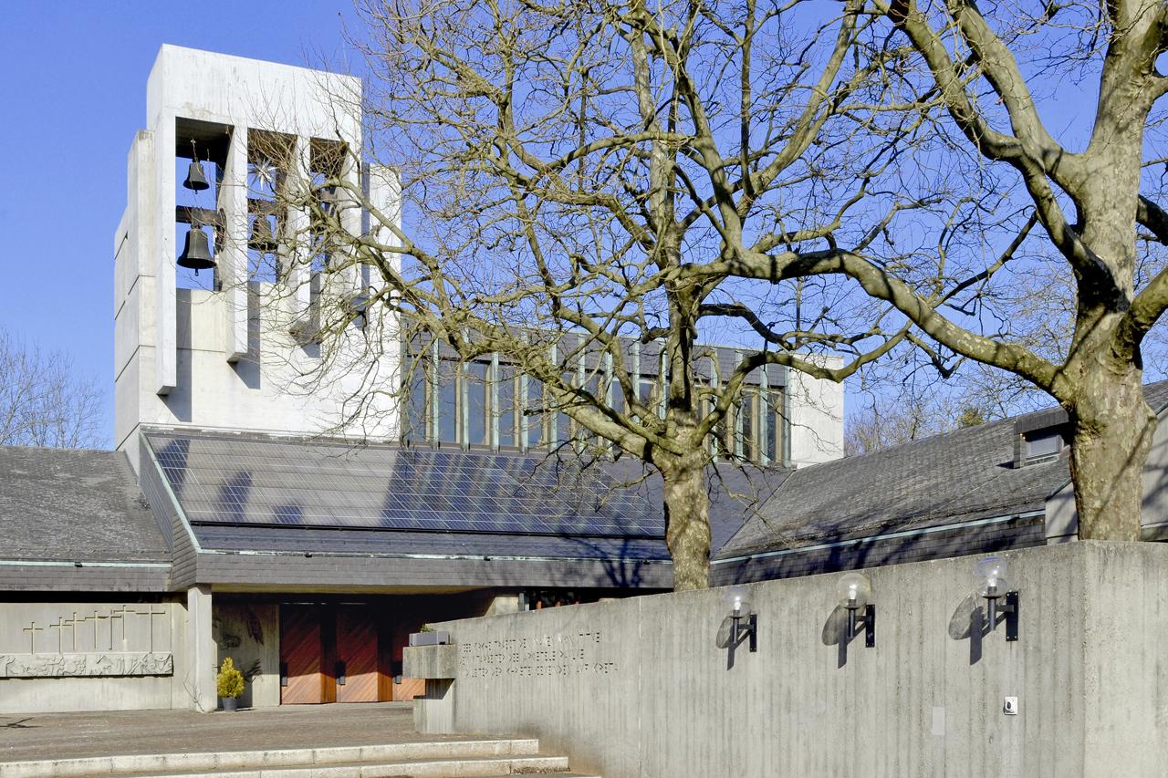 Kantonale Denkmalpflege Basel Stadt   Meditationsraum Und Kirchenzentrum:  Die Tituskirche